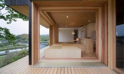 Tei 海がみえる家 (デッキバルコニー)