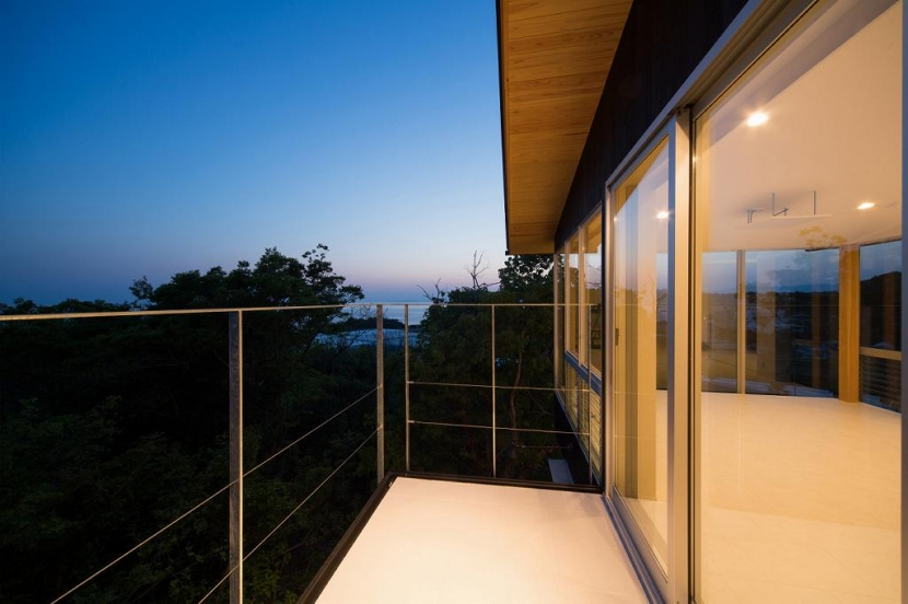 Tei 海がみえる家の部屋 プレイルームバルコニー