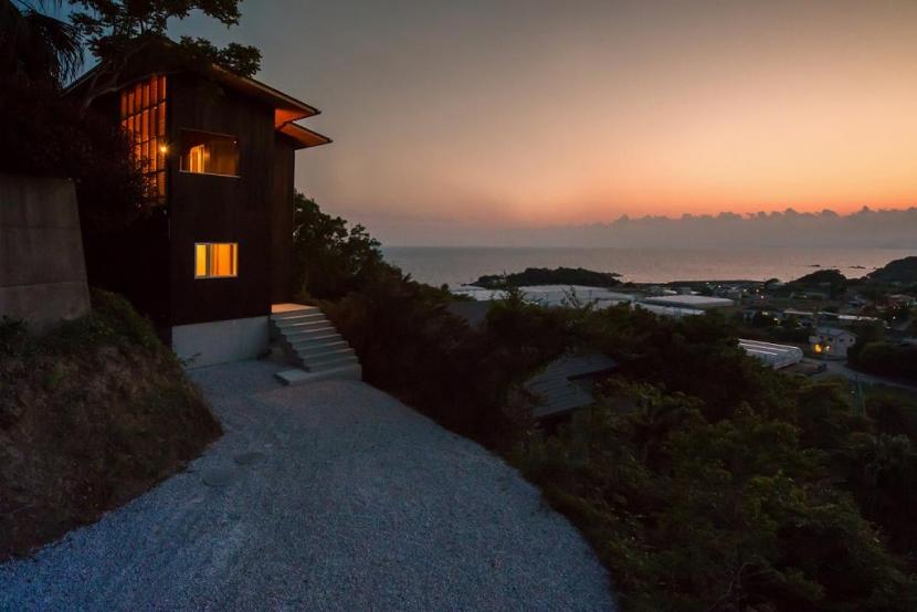 Tei 海がみえる家の部屋 アプローチ