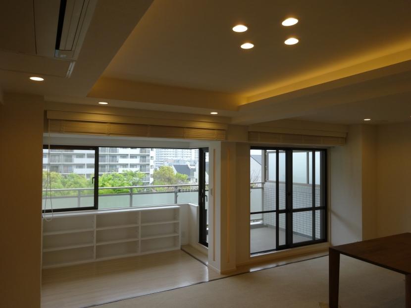 『50代からのリノベーション』 東戸塚邸 (リビングを広げるサンルーム)