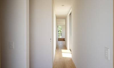 引戸のいえ (廊下4)