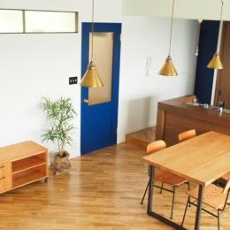 堺市K邸マンションリノベーション (リビングダイニング2)
