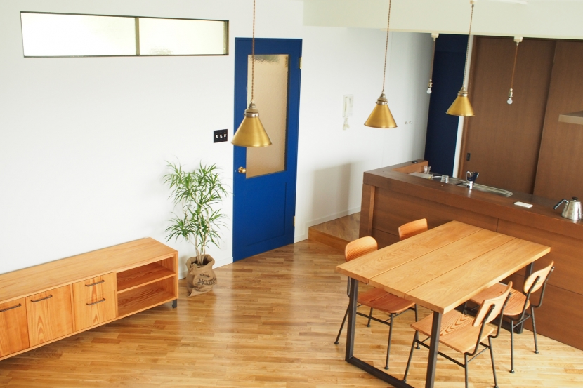 堺市K邸マンションリノベーションの写真 リビングダイニング2