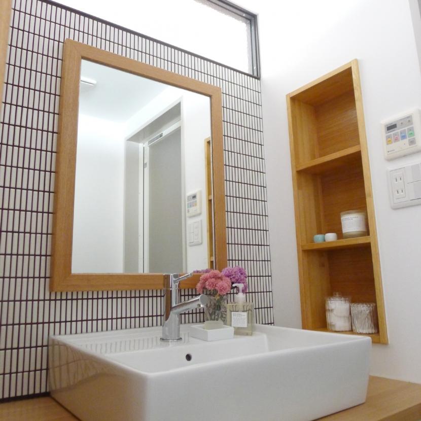 堺市K邸マンションリノベーションの写真 サニタリー