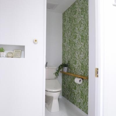 堺市K邸マンションリノベーション (トイレ)