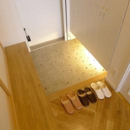 堺市K邸マンションリノベーション (玄関)