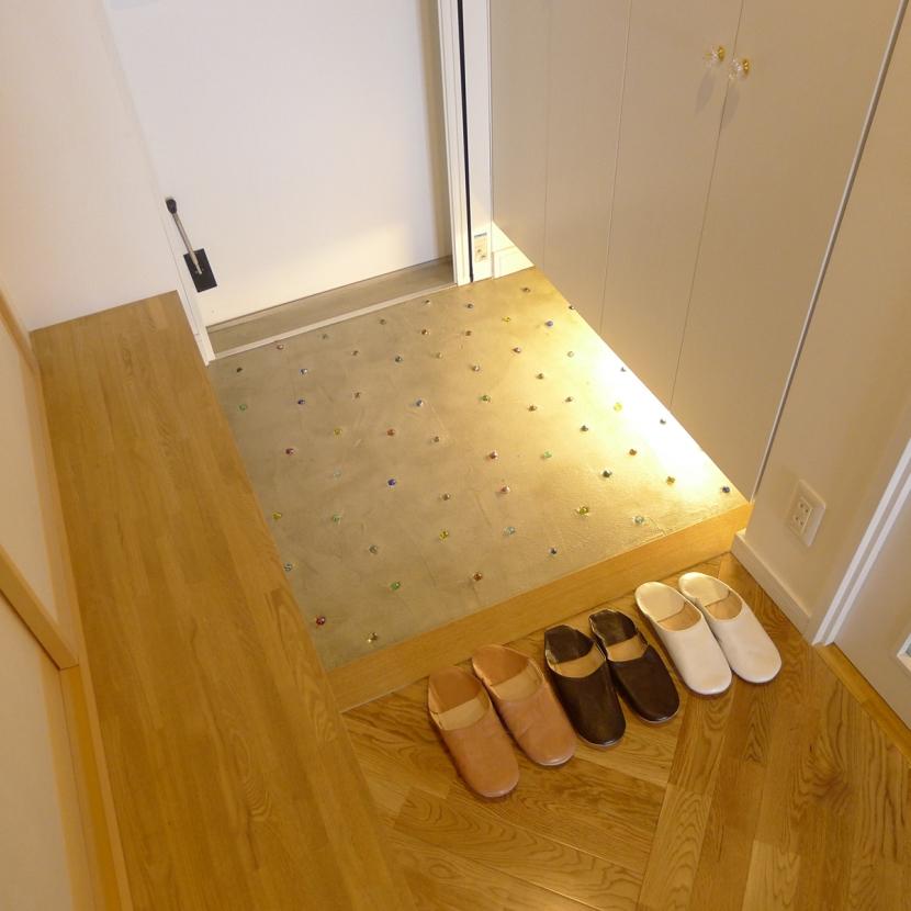 堺市K邸マンションリノベーションの写真 玄関