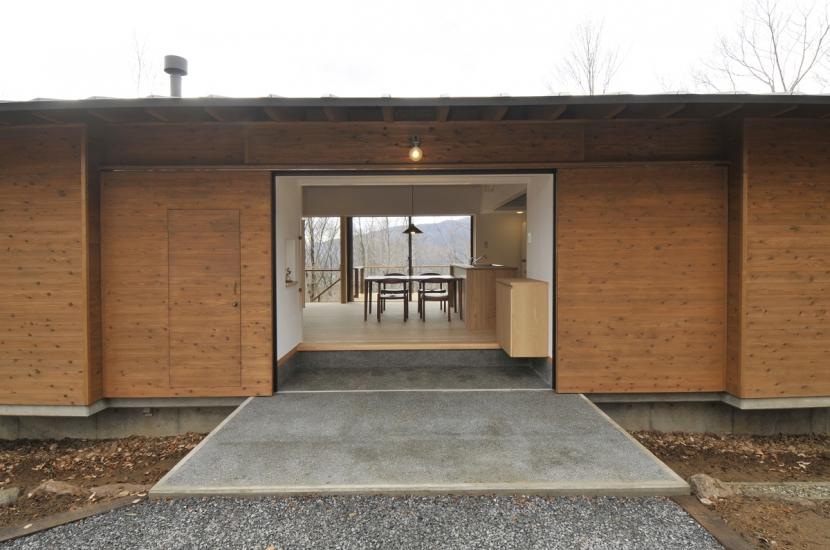 建築家:野口 淳「那須の山門」