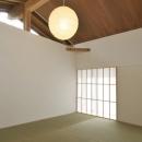那須の山門の写真 和室