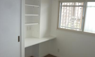 『50代からのリノベーション』 調布邸 (空間をうまく利用した寝室)