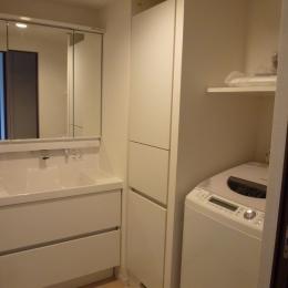 『50代からのリノベーション』 調布邸の写真 洗面室
