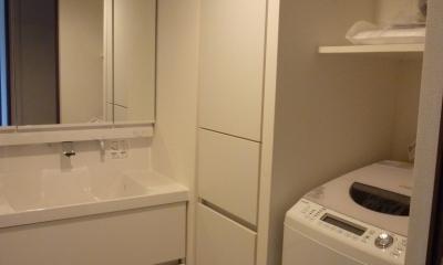 洗面室 『50代からのリノベーション』 調布邸