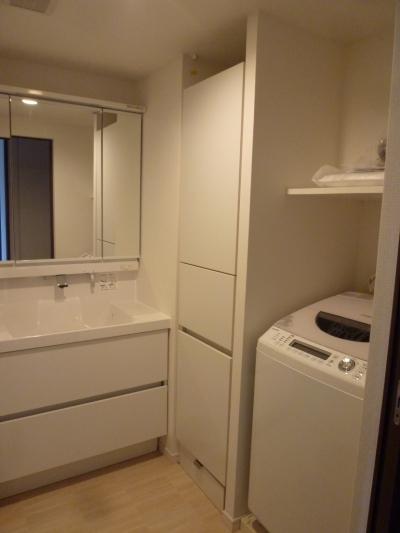 洗面室 (『50代からのリノベーション』 調布邸)