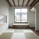 彩ちゃんの家〜大きな吹き抜けサロンのあるバリアフリー対応住宅【大阪市】の写真 和室