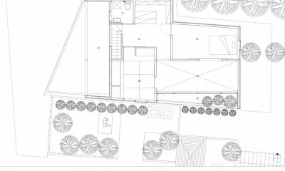 平面図|彩ちゃんの家〜大きな吹き抜けサロンのあるバリアフリー対応住宅【大阪市】
