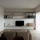 引き算の家|シンプル・ナチュラルなマンションリノベーション【京都市】