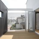 T+Kハウジング 2つの庭をもつ2世帯住宅の写真 ルーフテラス