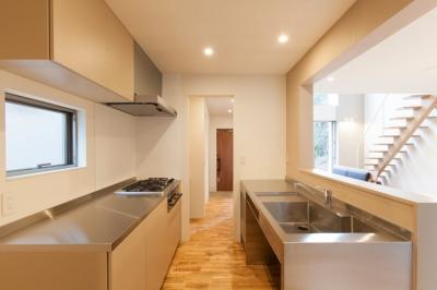 船橋の家 (キッチン)