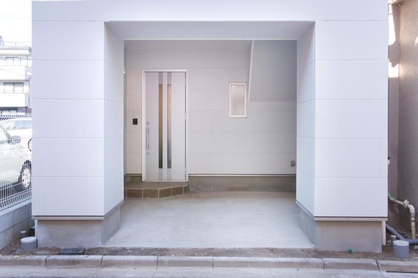 本所の家の部屋 ガレージ1