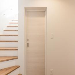 本所の家 (玄関 廊下)