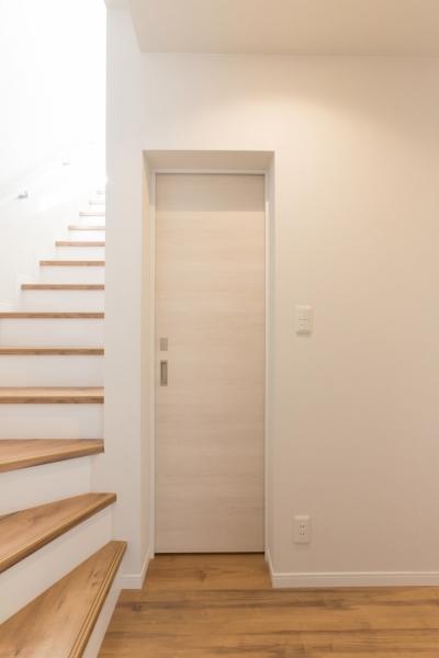 玄関 廊下 (本所の家)