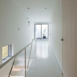 2階は白い空間 (Cave)
