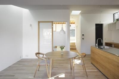 木漏れ日の家 (キッチン)