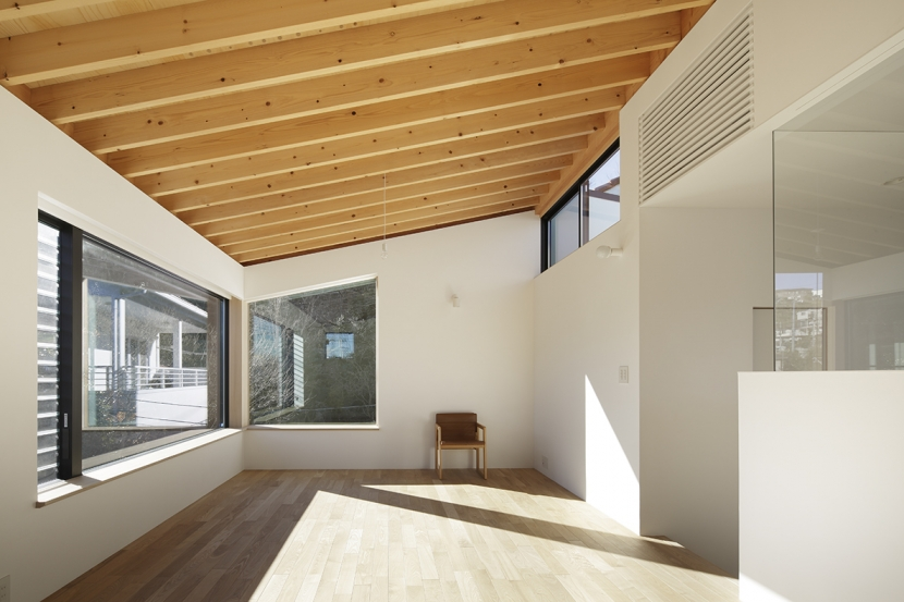木漏れ日の家の部屋 リビング