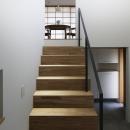 木漏れ日の家の写真 階段