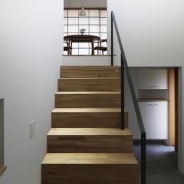 木漏れ日の家 (階段)