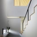木漏れ日の家の写真 階段」