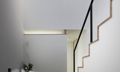 木漏れ日の家 (階段」)