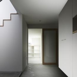 木漏れ日の家 (玄関)