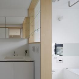 木漏れ日の家 (浴室)