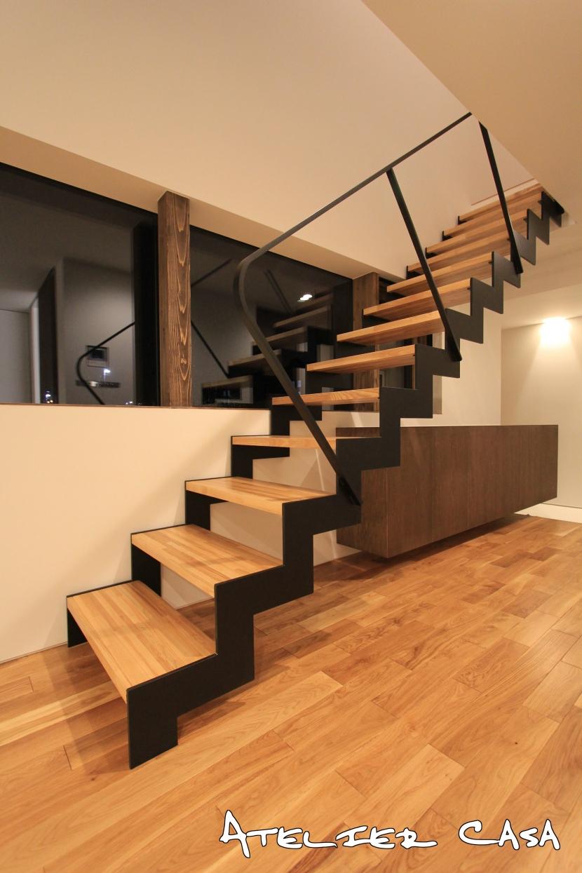 「ピッタンコの家」の部屋 階段