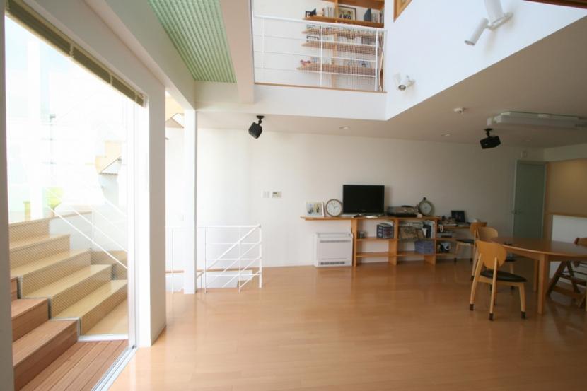 建築家:日吉聰一郎/SO建築設計一級建築士事務所「オープンステージのある住まい」