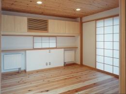 富田林の家 (主寝室)