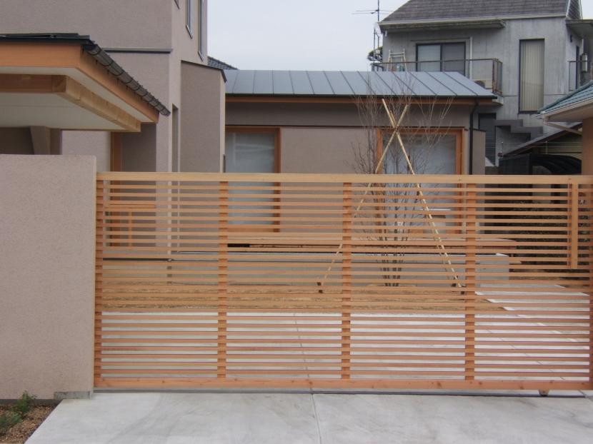浜寺の家 (門扉)