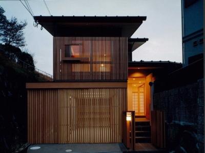 富田林の家 (道路側外観)