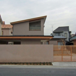 浜寺の家 (道路側外観)
