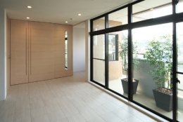 TM邸 和モダンを基調とした2世帯リノベーション (洋室)