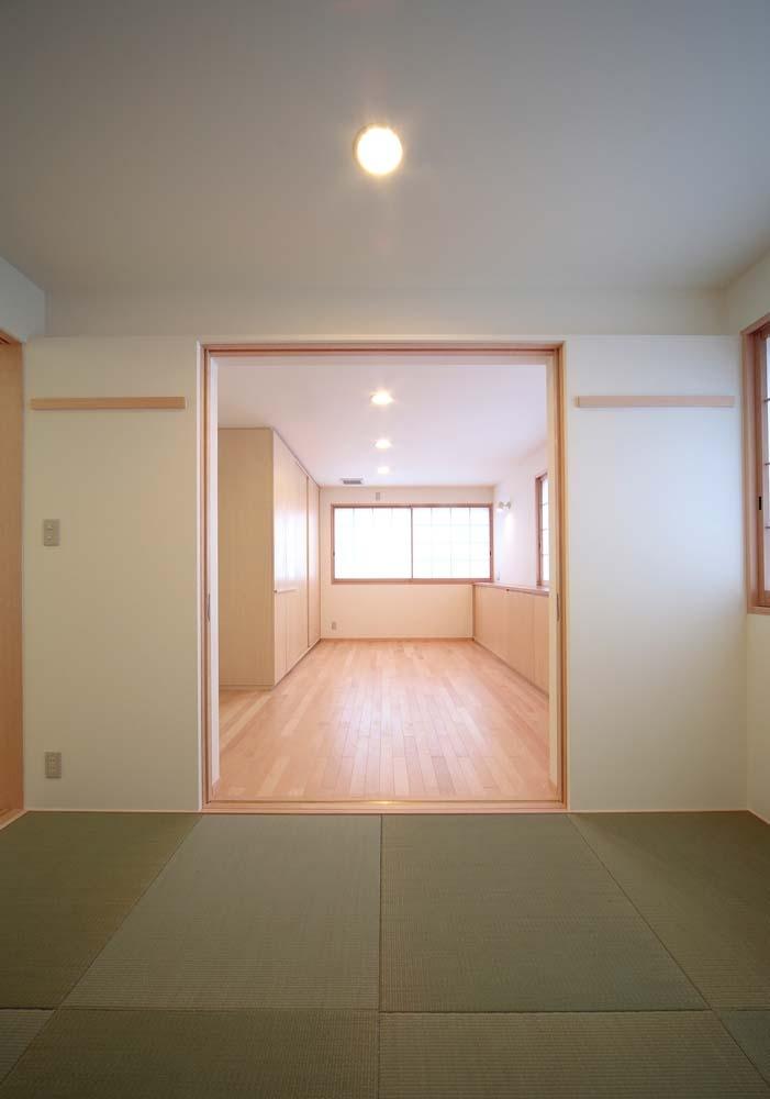 長岡京の家の部屋 和室+個室