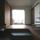 風景が透過する和モダンの家