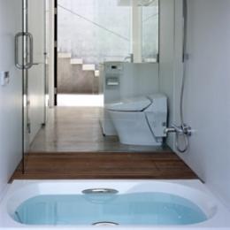 緑山の家 (バスルーム)