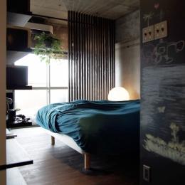 マンションリノベーション|名古屋市千種区F邸 (オープンな寝室)