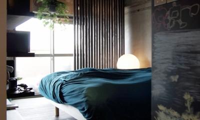 オープンな寝室|マンションリノベーション|名古屋市千種区F邸