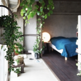 マンションリノベーション|名古屋市千種区F邸 (リビングの土間)