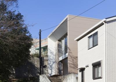 船橋の家 (外観3)