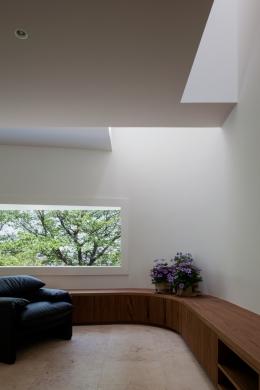 緑と風と光の家 (リビング・ダイニング 6)