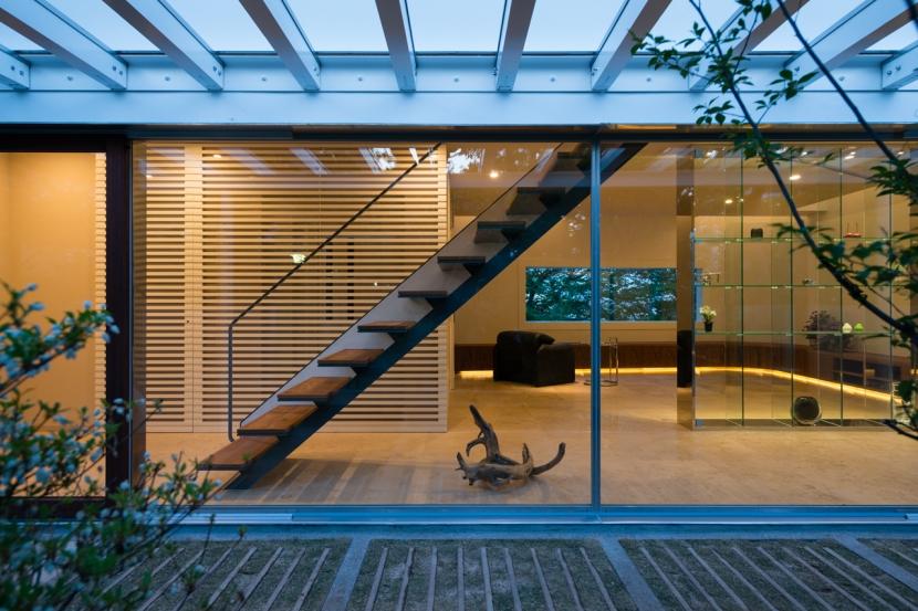 緑と風と光の家の部屋 インナーバルコニー 3